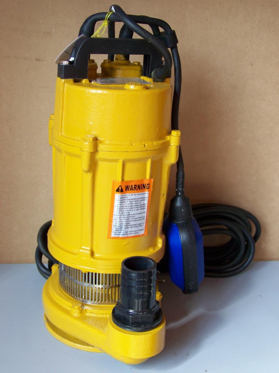 Bomba Sumergible Domestica Alto Flujo 3 4 Hp Tecnobombas