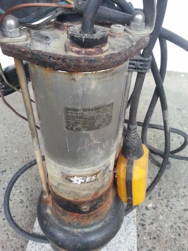 bomba sumergible espa acero inoxidable drainex 100m