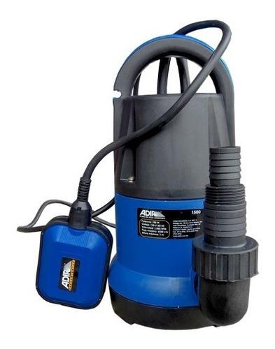 bomba sumergible hp agua limpia 1500 3830 adir