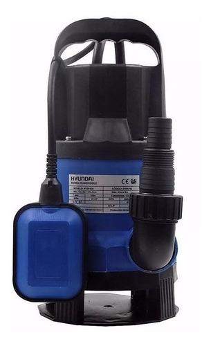 bomba sumergible hyundai agua sucia pozo negro 1 hp - tyt