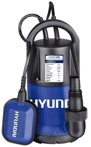 bomba sumergible hyundai agua sucia pozo negro 750w 1hp kirk