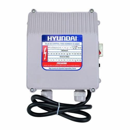 bomba sumergible hyundai hywp2020 de 2 hp c/caja de control