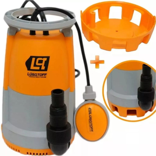 bomba sumergible lusqtoff agua sucia lsp-400 400w 10000l/h