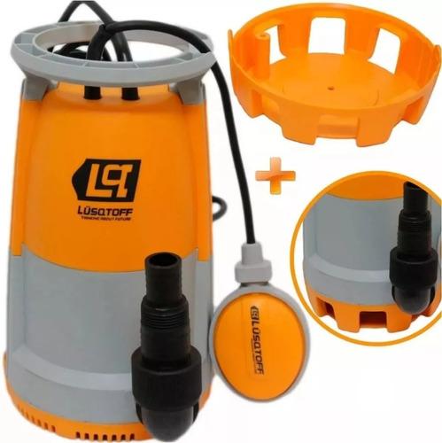 bomba sumergible lusqtoff agua sucia lsp-750 750w 12000lh