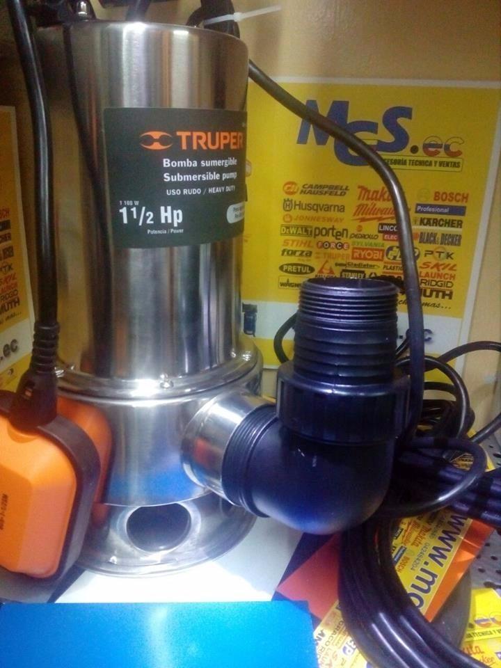 Bomba sumergible para agua sucia 1 1 2 hp 1100w marca - Bomba agua sucia ...