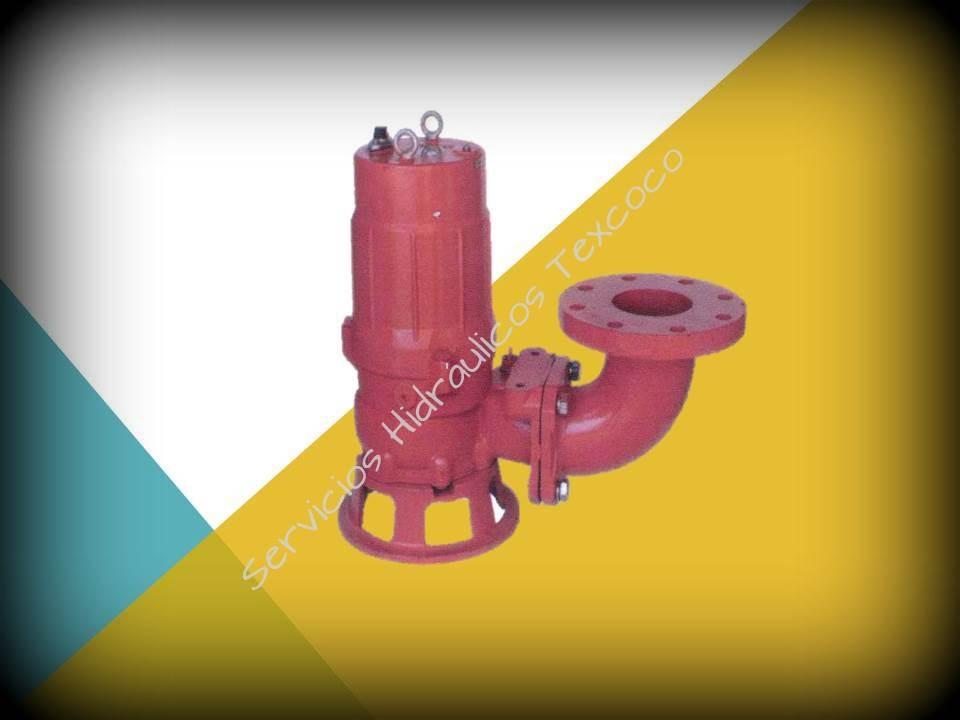 Bomba sumergible para agua sucia trituradora 3f 220v 2hp 3 - Bombas de agua sucias ...