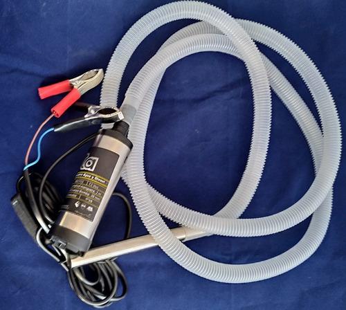 bomba sumergible para agua y diesel 12v 11 litros por minuto