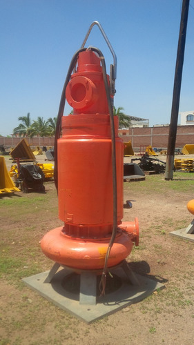 bomba sumergible para aguas negras fairbanks 10 x 8 pulgadas