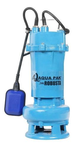 bomba sumergible para lodos serie robusta 1 hp 127 volts