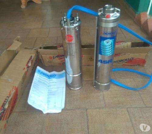 bomba sumergible pedrollo  2 hp monofasica 220v-envio gratis