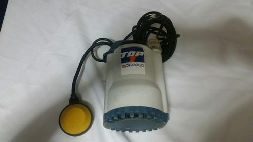 bomba sumergible pedrolo 1 hp