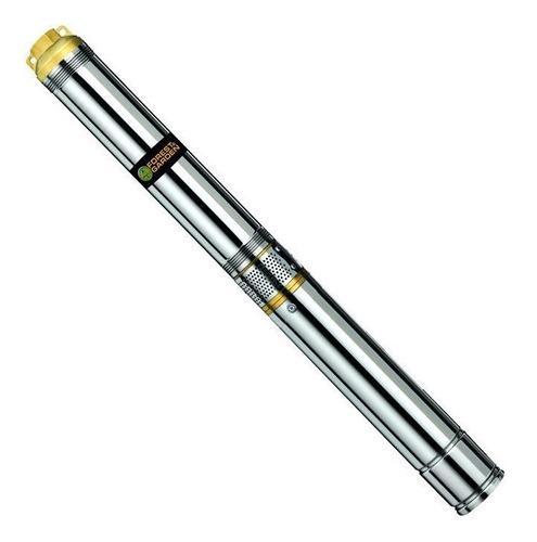 bomba sumergible pozo p/ aguas profundas gladiator 43m 3/4hp