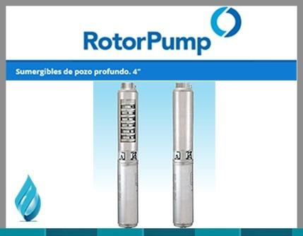 bomba sumergible  rotor pump 5.5 hp st 8015 trifasica