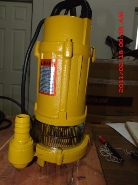 Bomba sumergible shimge 1 2 hp agua limpia tecnobombas - Bomba de agua sumergible ...
