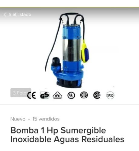 bomba sumergible trifásica