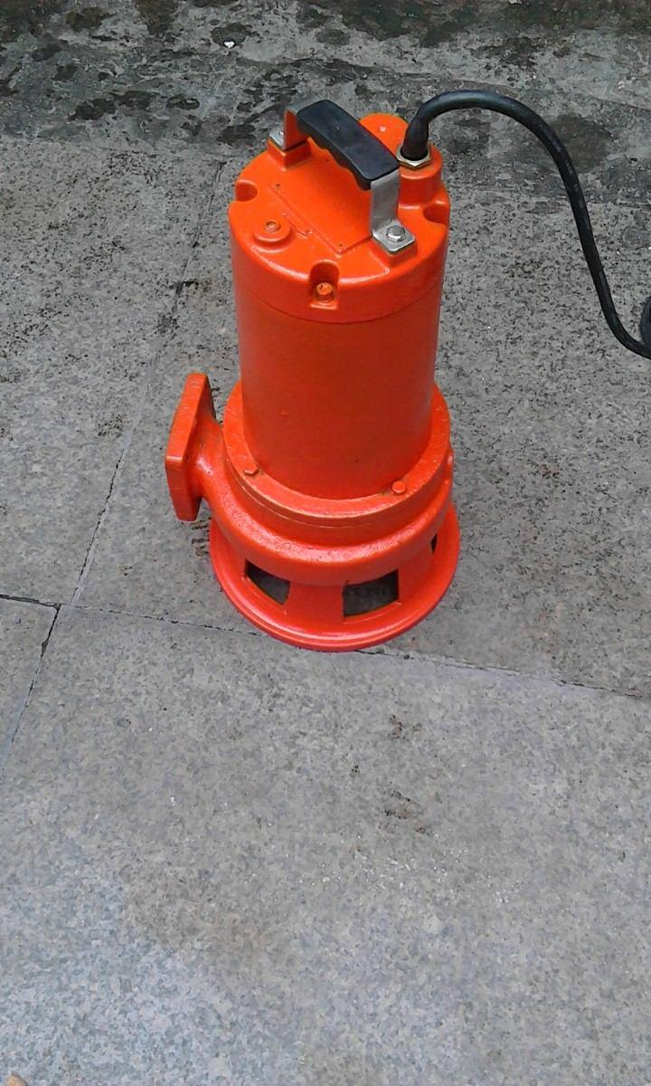 Bomba sumergible trituradora de 1 5 hp 7 en for Bomba trituradora sanitrit
