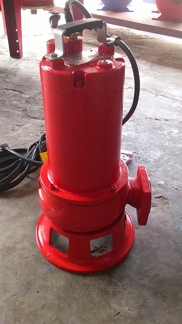 Bomba sumergible trituradora inds agua sucia for Bomba trituradora sanitrit