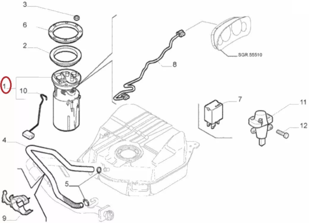 Peugeot Expert 2010 Fuse Box Diagram