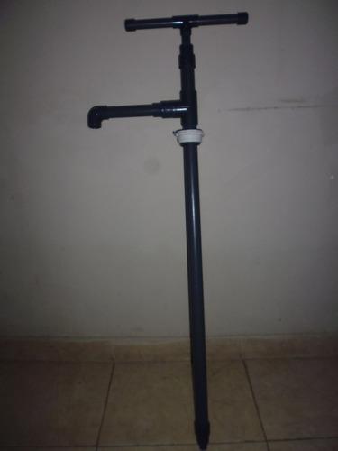 bomba trasegadora manual para pipa o tambor