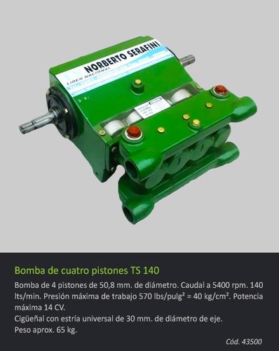 bomba ts 140 de 4 pistones