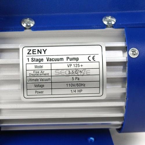Bomba Vacio Electrica 3 5 Cfm Refrigeracion Aire Marca
