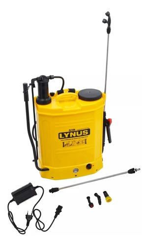 bomba veneno pulverizador elétrico costal bateria lynus