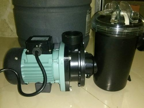 bomba y filtro   hayward  de 1/2 hp filtro de 13  110 volts