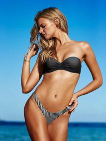 Ochentosa Bikini Xs Tiro Bombacha Victoria's Secret Alto 76fyvbgY