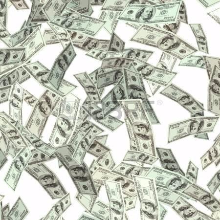 bombarda de confeti billete de100soles/cañon de dinero/dolar