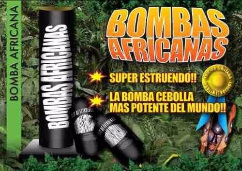 bombas africanas jupiter excelente estruendo renar 980007360