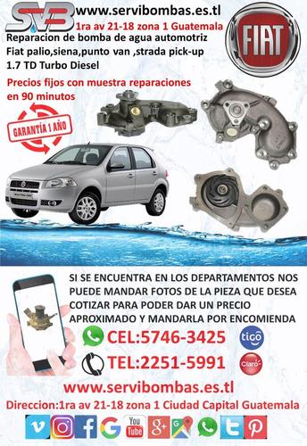 bombas de agua automotrices hino dutro j05d guatemala