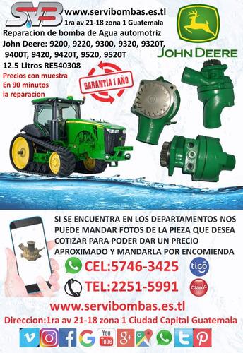bombas de agua automotrices john deere 4045,guatemala