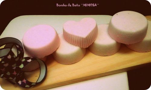 bombas de baño para relajar tu cuerpo y mente. deliciosas..