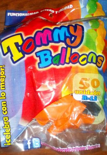 bombas haloween paquete x 50 unidades tamaño r12 calidad!!!