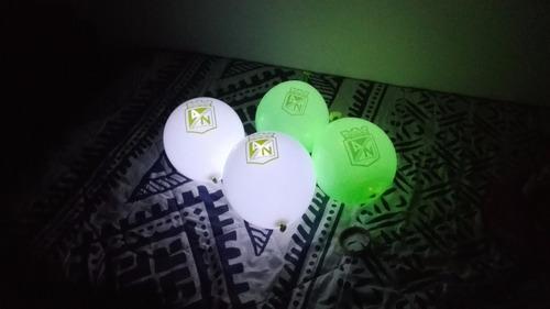 bombas led globos iluminados personalizados