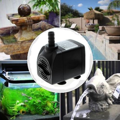 bombas sumergibles para sistemas de riego o fuentes