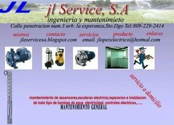 bombas sumergibles, reparación y servicios