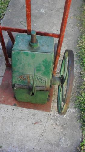 bombeador antiguo - marca amsterdam