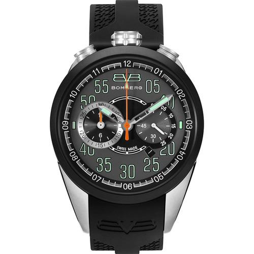 bomberg 1968 swiss made cronografo acero cau ns306 diego vez