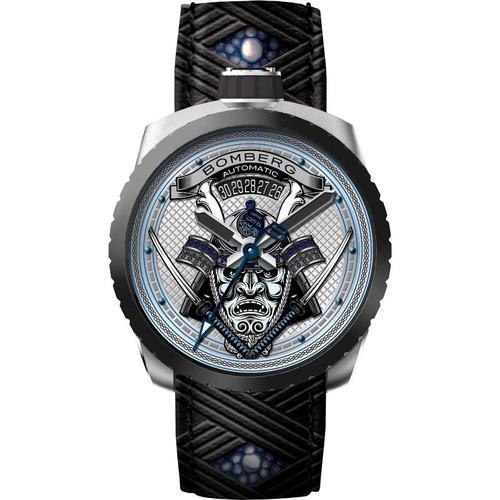 bomberg samurai blue edicion limitada automa bs436 diego vez