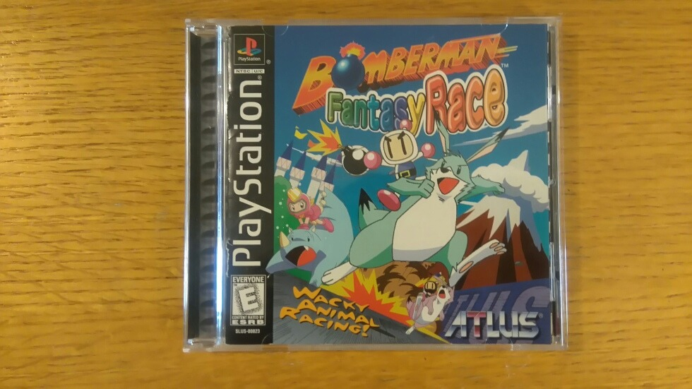 Bomberman Fantasy Race Ps1 Ps2 Ps3 Playstation 1 Bomber Man - $ 2,450 00