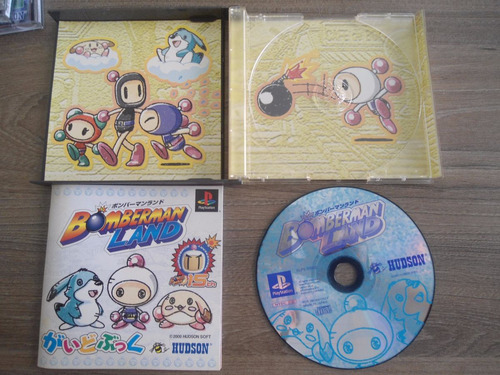 bomberman land original playstation - pst frete 15