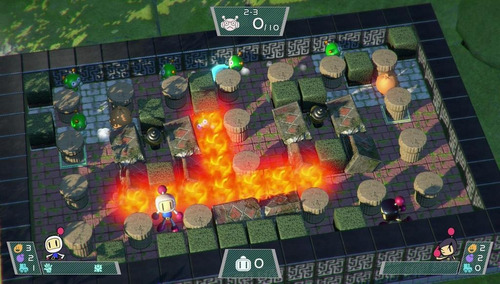 bomberman nintendo switch juego super