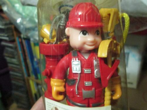 bombero muñequito con aditamentos para coleccionistas
