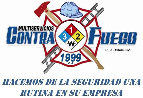 bomberos inpsasel extintores lamparas de emergencia y mas