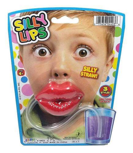 bombilla labios silly straw / ringastore