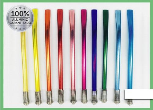 bombillas de colores metalizadas oferta x1 reunata mate