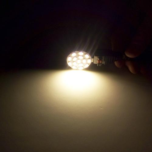 bombillas led rye-tech 3w mr11 gu4 12v ac / dc, bombillas ha