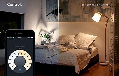 bombillas ledlifx (a19) wi-fi smart led bombilla, ajustab..
