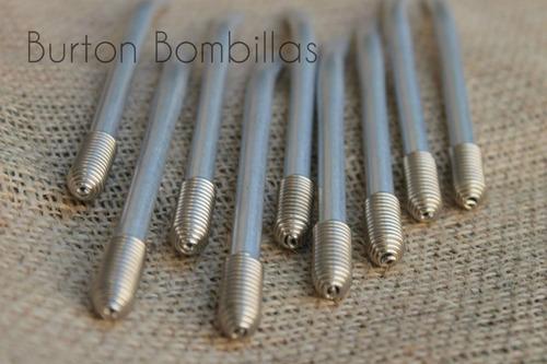 bombillas para mate de aluminio
